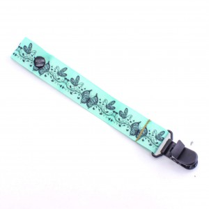 Mint-Butterfly-dummy-pacifier-clip-saver-baby-ACCC-Compliant