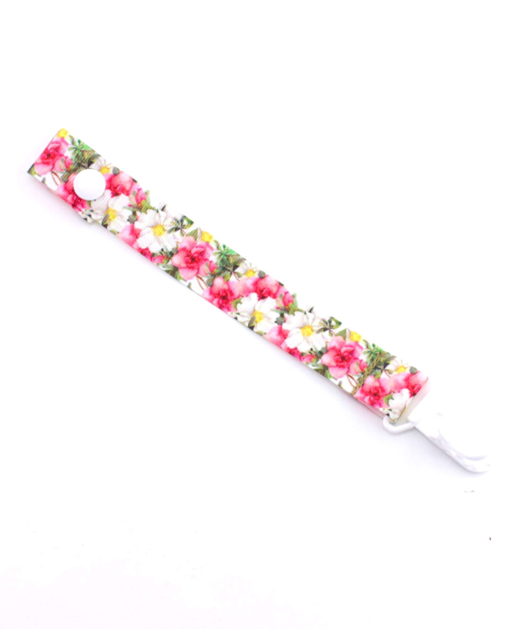 Floral-dummy-pacifier-clip-saver-baby-ACCC-Compliant