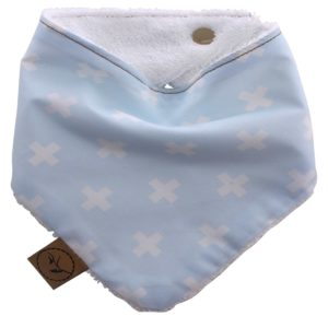 baby-blue-swiss-cross-baby-bandana-dribble-bib-adjustable-terry-cotton-designer