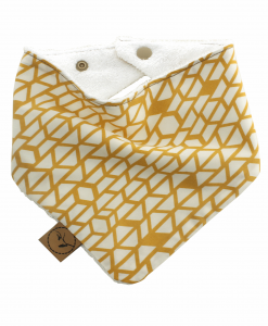 Luna Bib bandana dribble adjustable terry cotton designer