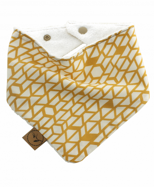 Luna Bib bandana dribble adjustable terry cotton designer