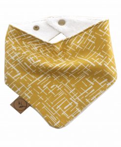 Mona Bib bandana dribble adjustable terry cotton designer