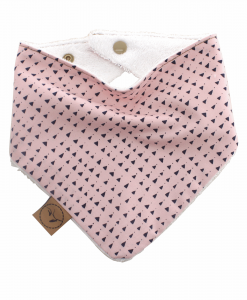 Evie Bib bandana dribble adjustable terry cotton designer