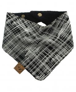 sketch bandana dribble bib adjustable terry cotton designer