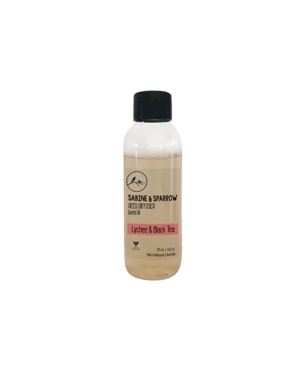 Lychee Black Tea Diffuser Oil 125ml aroma blend