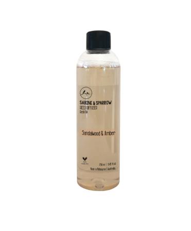 Sandalwood Amber Diffuser Oil 250ml aroma blend