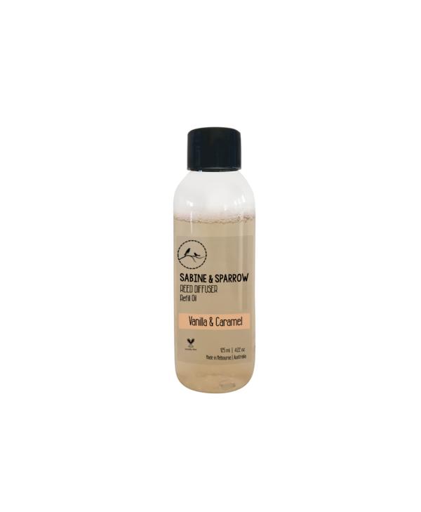 Vanilla Caramel Diffuser Oil 125ml