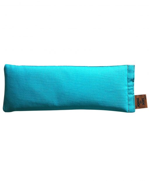 teal eye pillow melbourne designer cotton