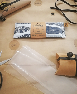 Feather your Nest packing eye pillow melbourne designer cotton