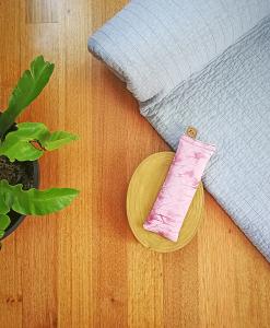 Madeline yoga eye pillow melbourne designer cotton