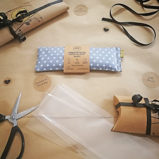 Stormy Nights packing eye pillow melbourne designer cotton