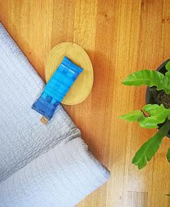 Tidal yoga eye pillow melbourne designer cotton