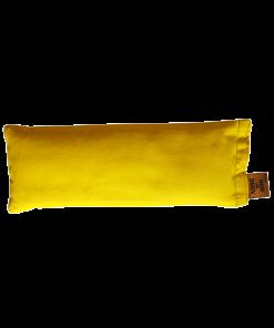 Canary yellow back eye pillow melbourne designer cotton