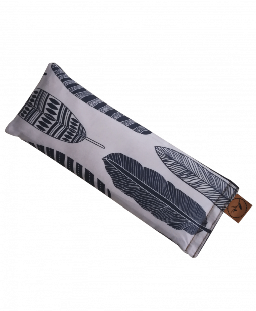 Feather your nest angle eye pillow melbourne designer cotton