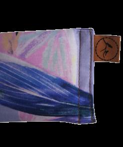 Pastel Feather close eye pillow melbourne designer cotton