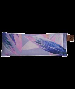 Pastel Feather straight eye pillow melbourne designer cotton