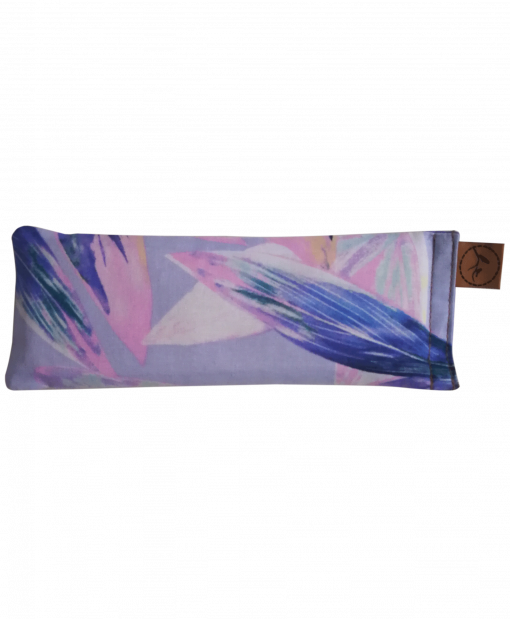 Pastel Feather straight eye pillow melbourne designer cotton