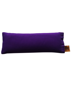Royal purple back eye pillow melbourne designer cotton