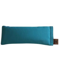 Teal Feather BAck eye pillow melbourne designer cotton