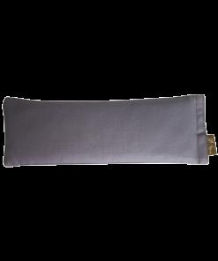 grey eye pillow back melbourne designer cotton