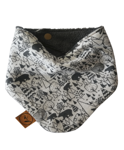 woodlands baby bandana dribble bib adjustable terry cotton designer