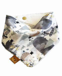 Rascal-bandana-dribble-bib-adjustable-terry-cotton-designer