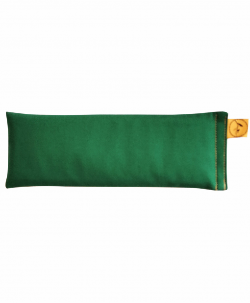 Forest-Green-Classic-eye-pillow-lavender-sore-pain-relief-yoga