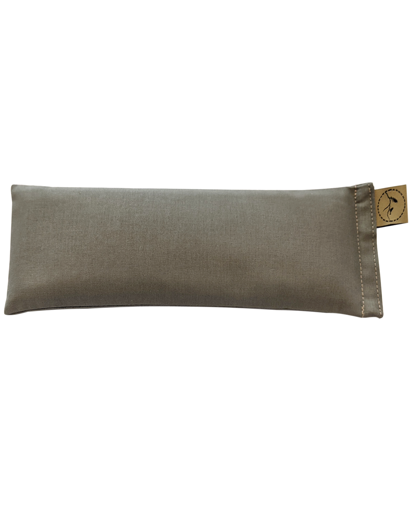 Khaki-eye-pillow-lavender-sore-pain-relief-yoga