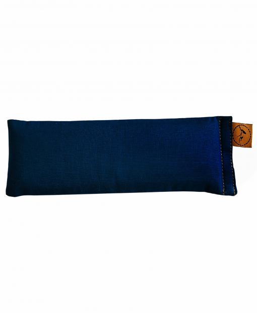 Navy-Blue-eye-pillow-lavender-sore-pain-relief-yoga