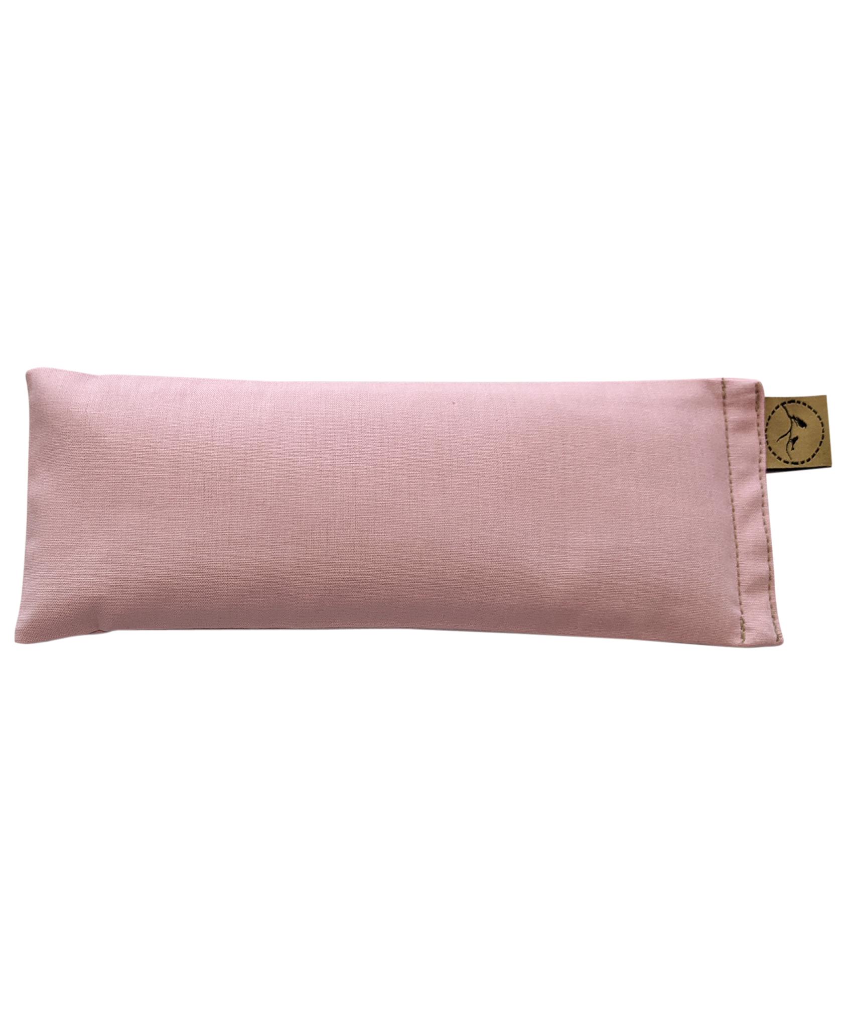 Pastel-Pink-eye-pillow-lavender-sore-pain-relief-yoga