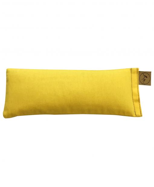 Yellow-eye-pillow-lavender-sore-pain-relief-yoga
